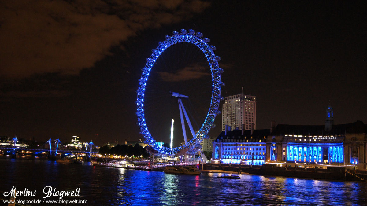 London Eye und Themse
